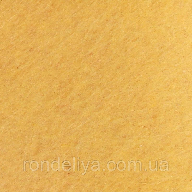 Фетр 20х30 см 1мм абрикосовий