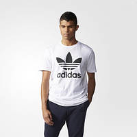 Футболка с логотипом-трилистником adidas OriginalsTrefoil Tee AJ8828