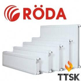 Стальной радиатор Rӧda RSR 11 R  боковое подключение