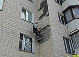 Обследование фасада, простукивание  плитки, сбить плитку, фото 4