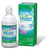 Раствор для линз Opti Free PureMoist Alcon/60мл-120гр;  120мл-170гр:  240мл-321гр:360мл-371гр + контейнер