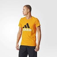 Футболка с логотипом Adidas Essentials Logo AK1795