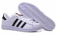 "Кроссовки Adidas Superstar 80 ""White Black"""