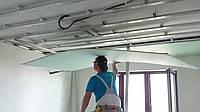 Монтаж гипсокартона (потолок)