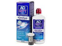 Раствор для линз Aosept Plus HydraGlyde 360мл