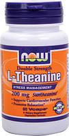 Л-теанин / L-Theanine, 200 мг 60 капсул