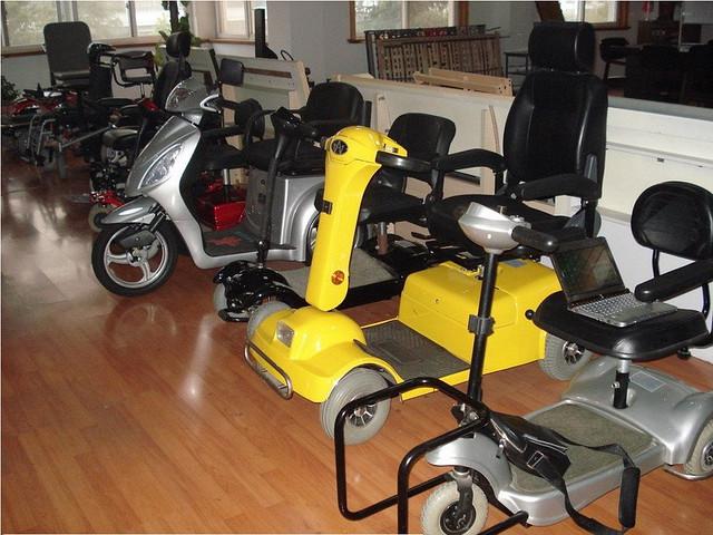 электромобиль инвалидный