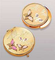 Подарочный женский набор зеркальце + держатель для сумочки WIN-104