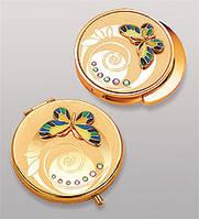 Подарочный женский набор зеркальце + держатель для сумочки WIN-108