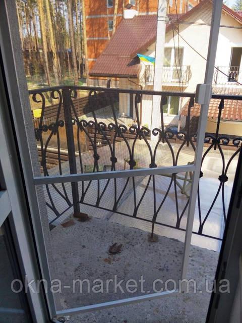 Дверная москитная сетка (москитная <highlight>сетка на двери),</highlight> фирма &quot;Окна Маркет&quot; г.Киев