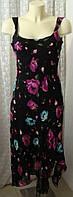 Платье женское летнее легкое яркое модное сарафан макси бренд Per Una р.44-46 6086а