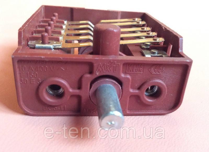 Переключатель пятипозиционный BC5-11 / 16А / 250V / Т150 для электроплит        Турция