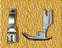 Лапка P 363 узкая с прорезью  по центру