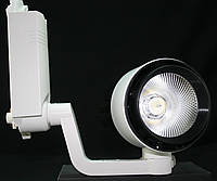 Светодиодный трековый светильник 30 Вт - 2 холодный белый 6500К, фото 1
