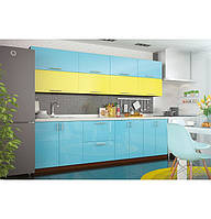 "Кухня, мебель на кухню в стиле модерн ""Колор-микс"" 7, фото 1"