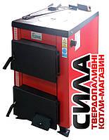 Твердотопливный котел плита Визит 14-15 кВт на дровах и угле