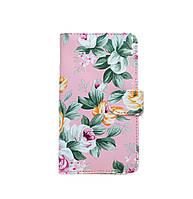 Чехол-книжка Book Case для Samsung J700 Pink Flowers