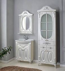 Комплект мебели Ольвия (Атолл) Наполеон-75 белый жемчуг