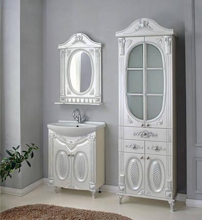 Комплект мебели Ольвия (Атолл) Наполеон-75 белый жемчуг, фото 2