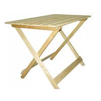 """Стол складной деревянный """"Торговый"""" (в/ш/д) 77х60х90 см"""
