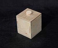 Заготовка для декупажа. Короб для сыпучего 10х10х11(см)