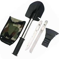 Универсальная туристическая лопата саперка 5 в 1, туристическая саперная лопата, набор туриста/охотника/рыбака