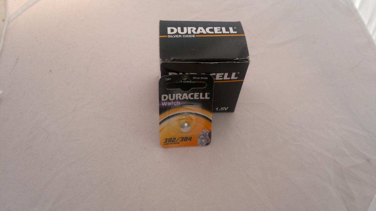 Часовая батарейка Duracell SR41SW (392)