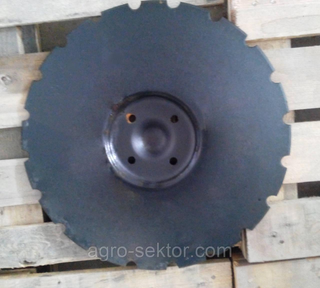 Диск для дисковой бороны Vaderstad Carrier мм на 4 отверстия 466947