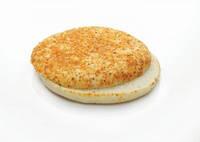 Круглый хлебушек Фокачча с приправой красного перца