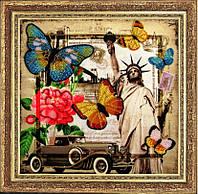 Набор для вышивания бисером Привет из Америки 111