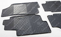 Резиновые коврики Киа Сид 1  (модельные коврики на Kia Ceed 1, комплект 2 шт. в салон)
