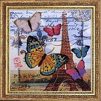 Набор для вышивания бисером Привет из Парижа 107