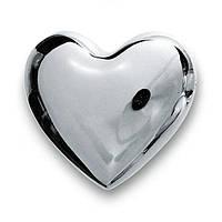 Сердце 7 см с колокольчиками