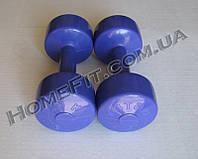 """Гантели для фитнеса """"Титан"""" 2 шт по 2,5 кг"""