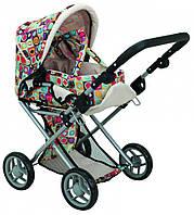 Детская цветная коляска 2 в 1 с люлькой Todsy Mary 9346C