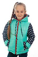 Детская куртка парка для девочки весна осень, фото 1