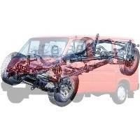 Деталі трансмісії Ford Transit Форд Транзит 1986-1991
