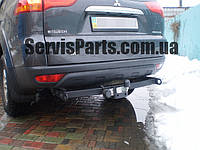 Фаркоп Mitsubishi Pajero Sport NEW 2009- (Митсубиси Паджеро Спорт)