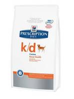 Hill's PD Canine K/D (Хиллс) Заболевания почек, 12 кг