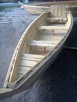 Лодка из дерева ( покраска , лак )