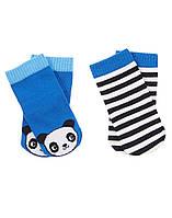 Детские носочки для мальчика (2 пары) 0-3 месяца