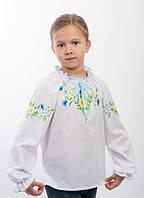 Сорочка для дівчинки машинна вишивка №0190