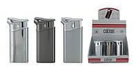 Зажигалка трубочная 2104100 COLTON (26018) металл, газ/пьезо, 3 цв в ассортимент