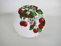 Тарелка для вторых блюд № 7 Вишня в цвету 180 мм