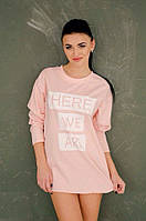 "Стильная молодежная туника "" Here We Are "" Dress Code, фото 1"