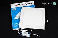 Встраиваемый потолочный светодиодный светильник 18 Вт (225*204)