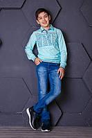 Джинсы, одежда для мальчика11-15 лет