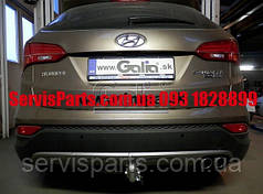 Фаркоп Hyundai Santa Fe 2012- (Хундай Санта Фе)