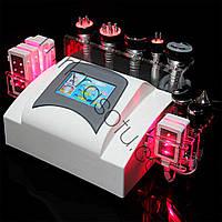 Аппарат Slim-6  7в1, Кавитация, рф лифтинг, холодный лазерный липолиз, вакуумная банка