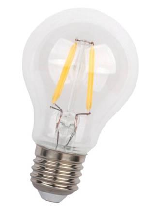 Светодиодная лампа Filament LED Biom FL-307 А60 Е27 4W 3000К 220V прозрачная Код.58592, фото 2